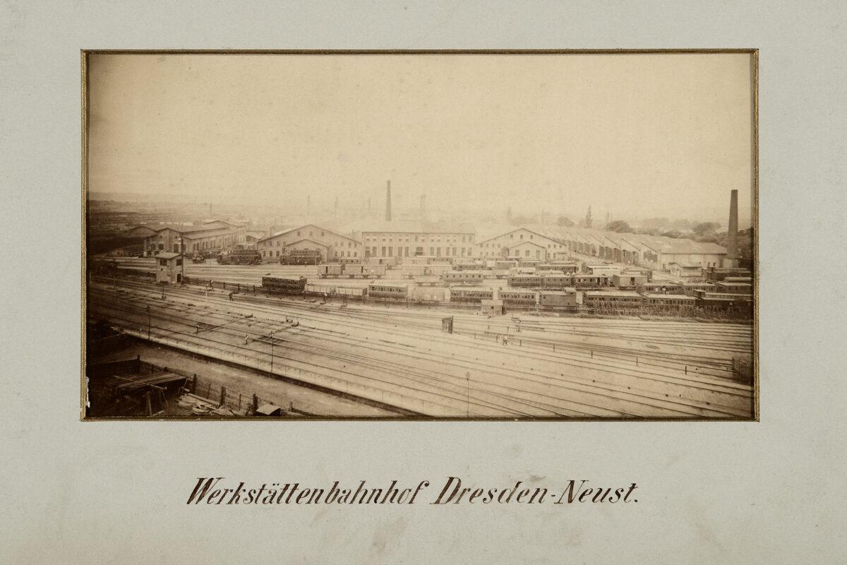 Werkstättenbahnhof Dresden-Neustadt / 20160225174303