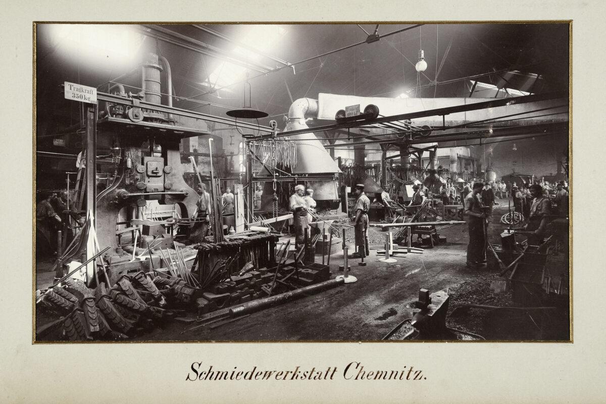 Schmiedewerkstatt Chemnitz / 20160225174305