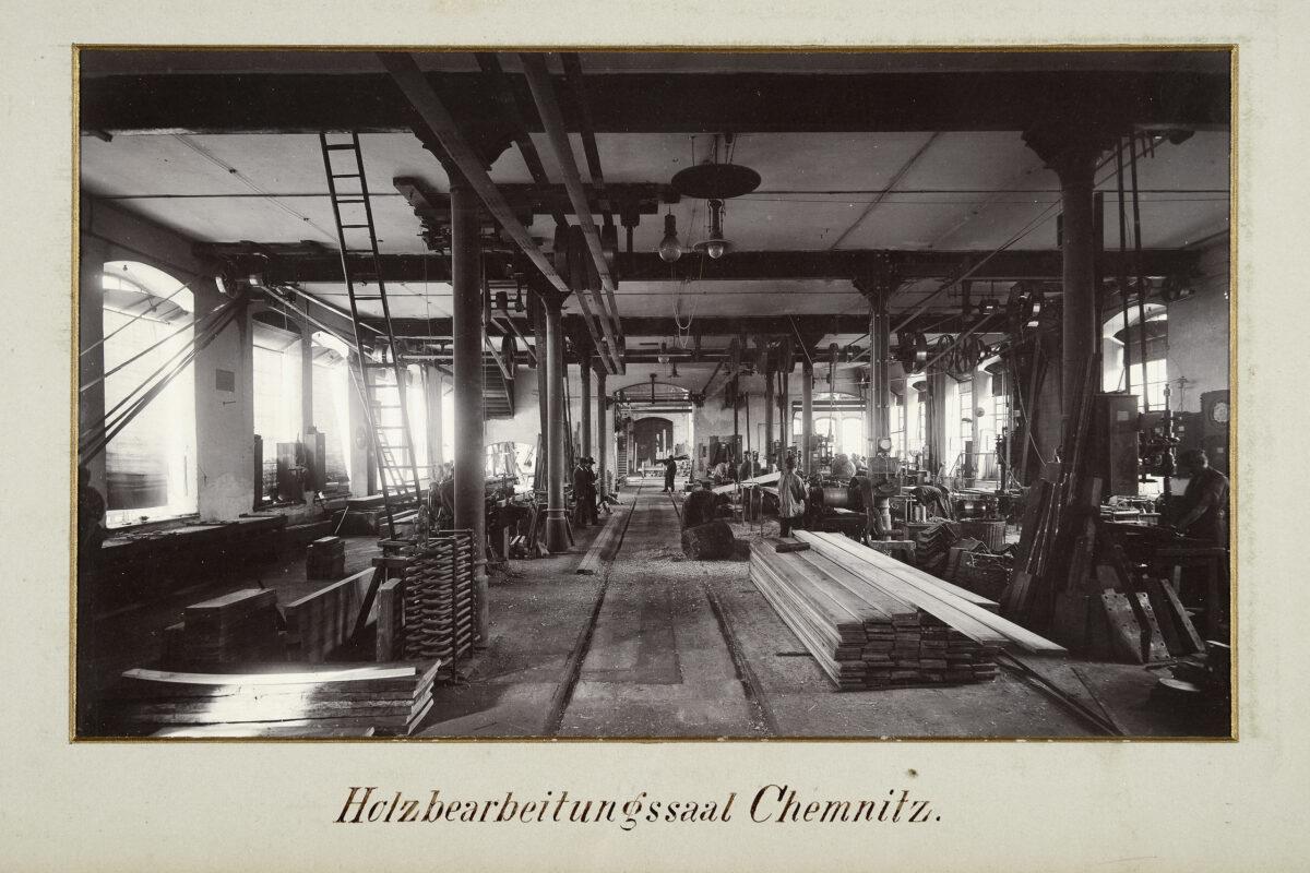 Holzbearbeitungssaal Chemnitz / 20160225174307