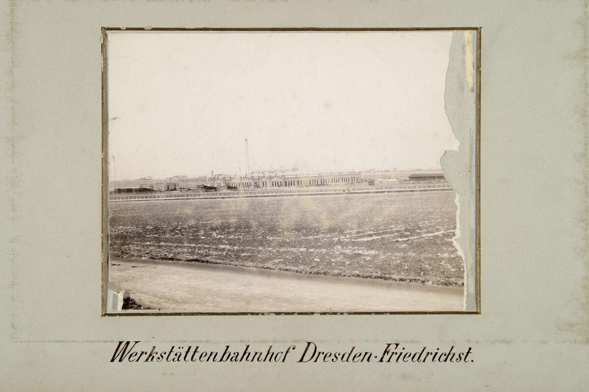 Werkstättenbahnhof Dresden-Friedrichstadt / 20160225174311