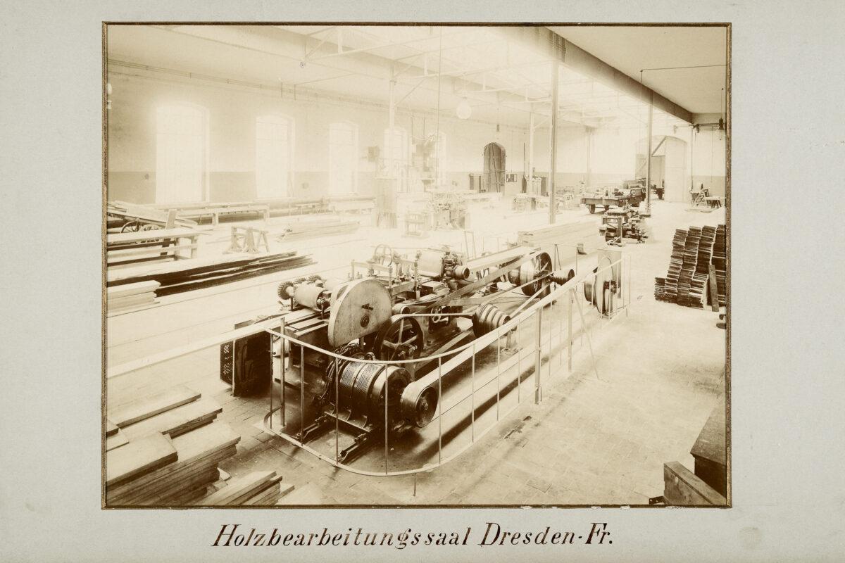 Holzbearbeitungssaal Dresden-Friedrichstadt / 20160225174314