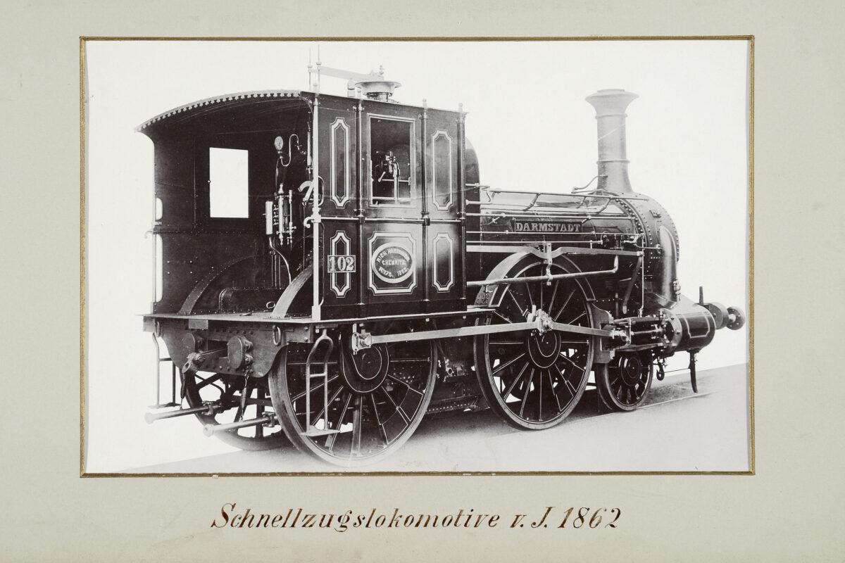 Schnellzuglokomotive vom Jahre 1862 / 20160225174317