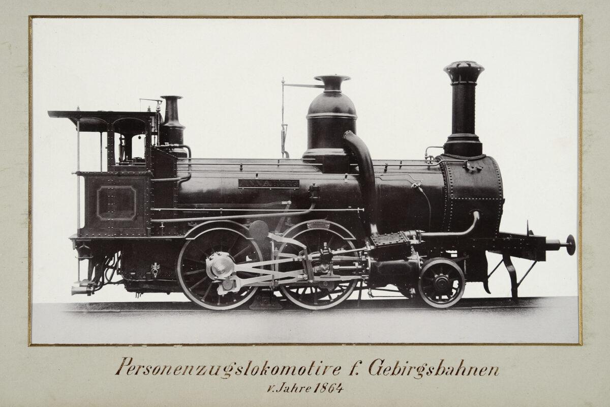Personenzugslokomotive f. Gebirgsbahnen vom Jahre 1864 / 20160225174319