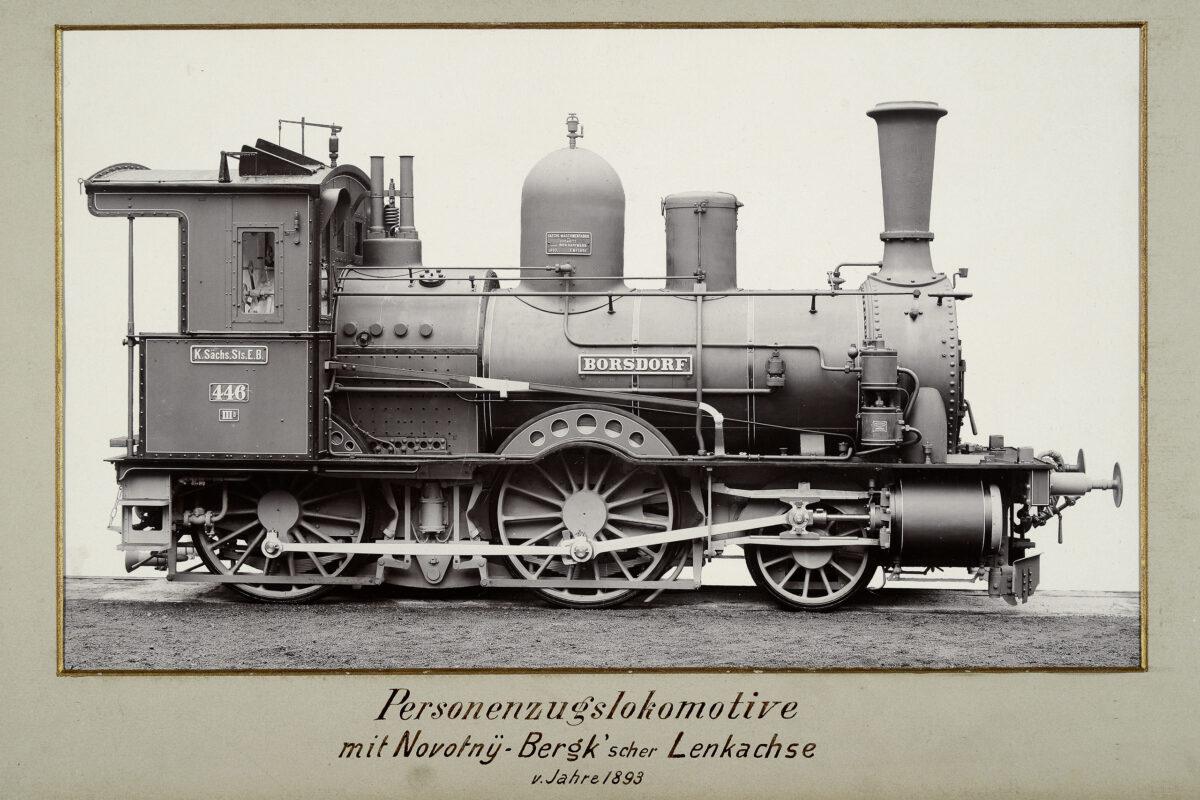 Personenzugslokomotive mit Novotny-Bergk'scher Lenkachse vom Jahre 1893 / 20160225174320