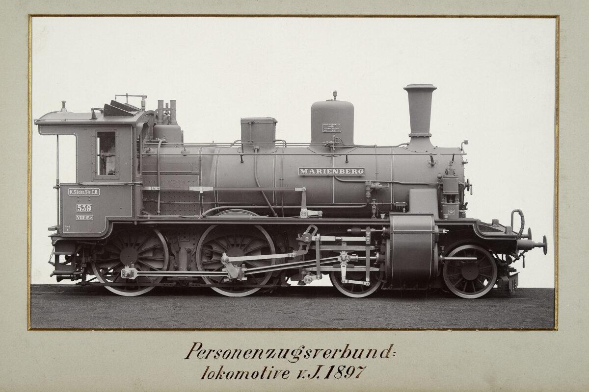 Personenzugsverbundlokomotive vom Jahre 1897 / 20160225174322