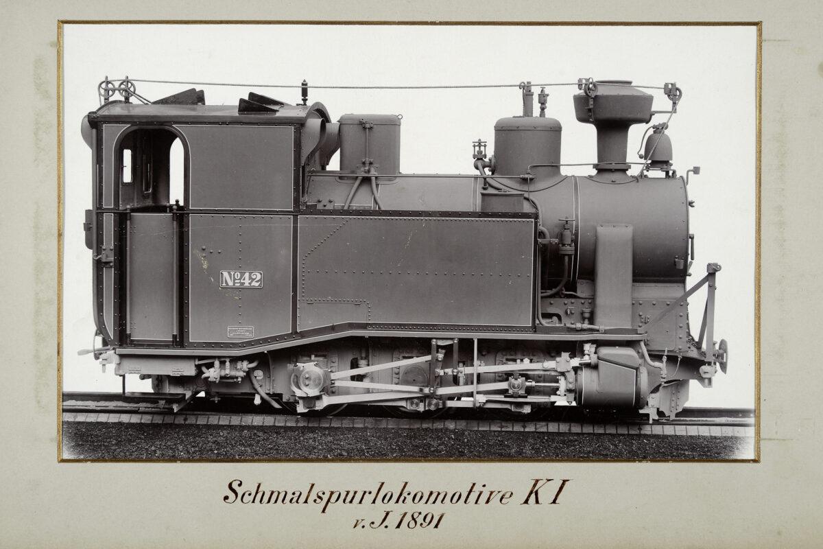 Schmalspurlokomotive KI vom Jahre 1891 / 20160225174324
