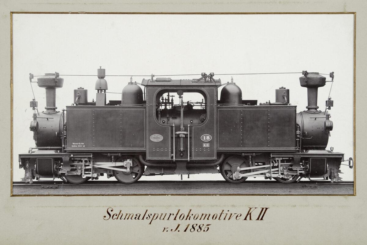 Schmalspurlokomotive KII vom Jahre 1885 / 20160225174325