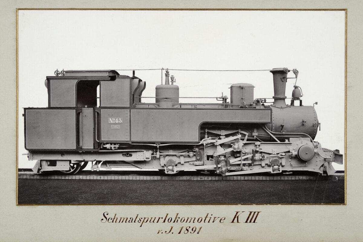 Schmalspurlokomotive KIII vom Jahre 1891 / 20160225174326