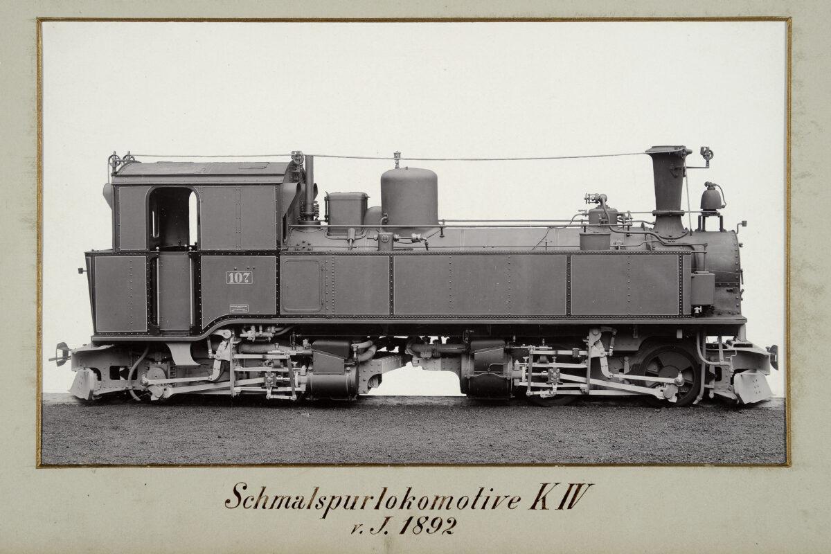 Schmalspurlokomotive KIV vom Jahre 1894 / 20160225174327