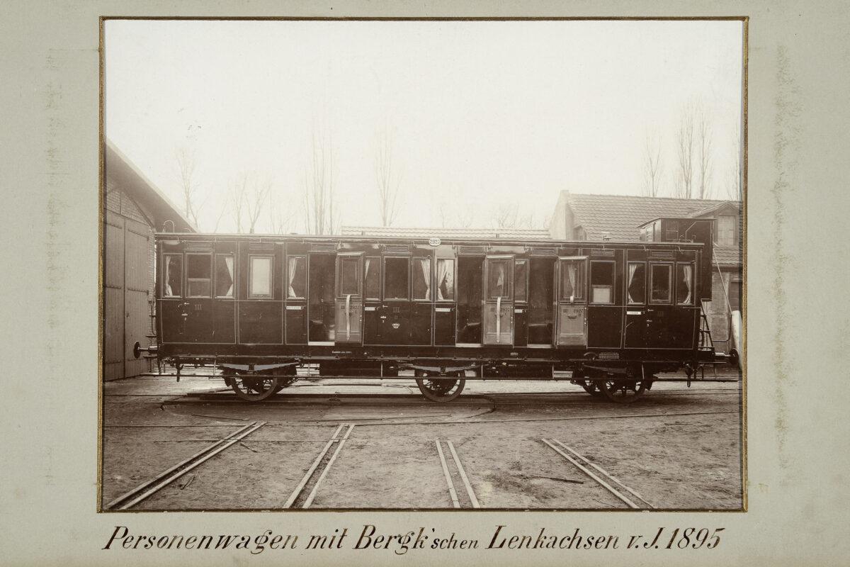 Personenwagen mit Bergk'schen Lenkachsen vom Jahre 1895 / 20160225174329