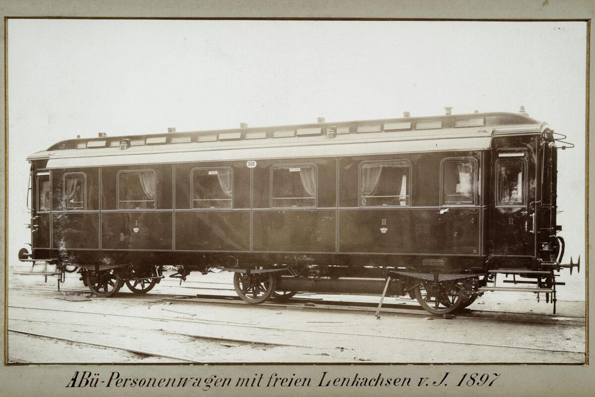 ABü-Personenwagen mit freien Lenkachsen vom Jahre 1897 / 20160225174330
