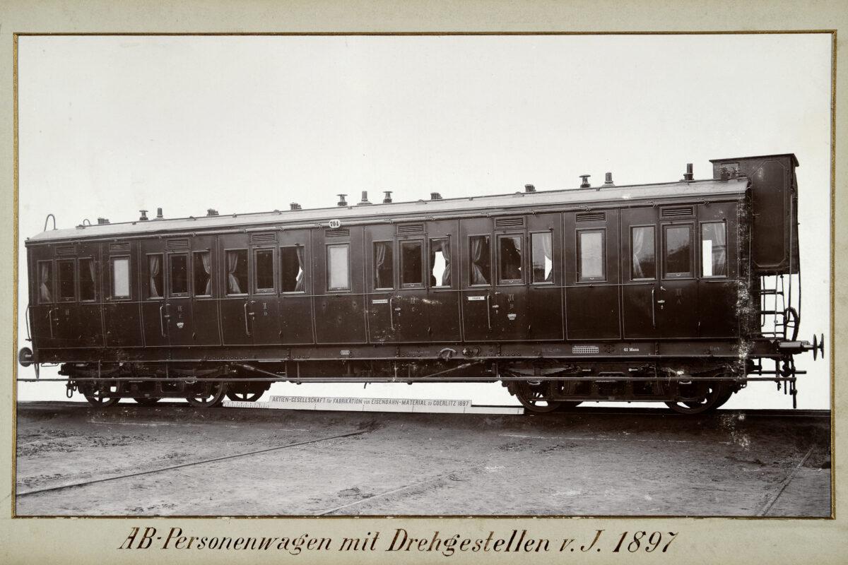 AB-Personenwagen mit Drehgestellen vom Jahre 1897 / 20160225174331