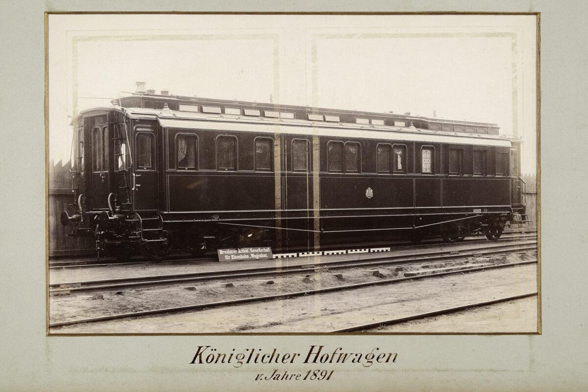 Königlicher Hofwagen vom Jahre 1891 / 20160225174332