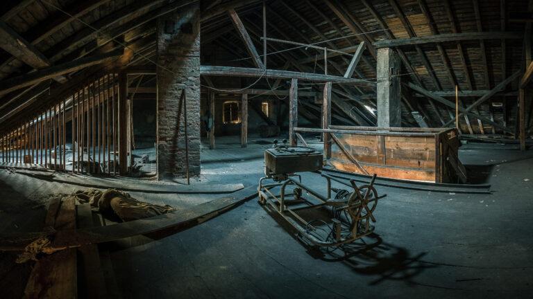 Dachboden Stadtschloss Herrieden / 20161210085305