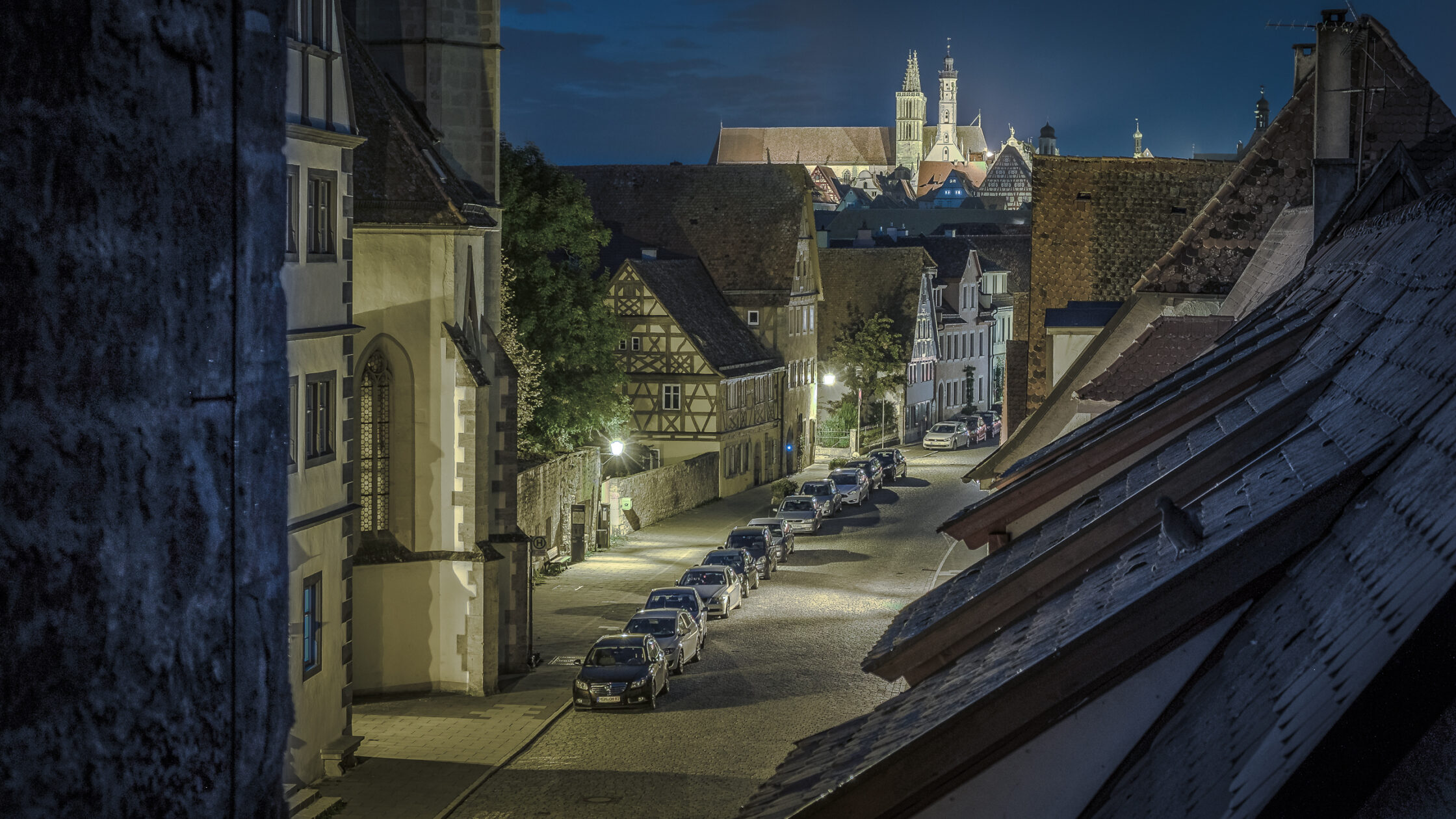 Spitalgasse Rothenburg ob der Tauber / 20170929200406