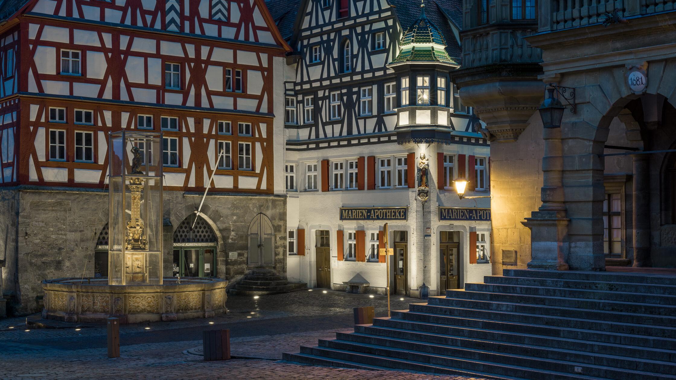 Herrngasse Rothenburg ob der Tauber / 20180304182511