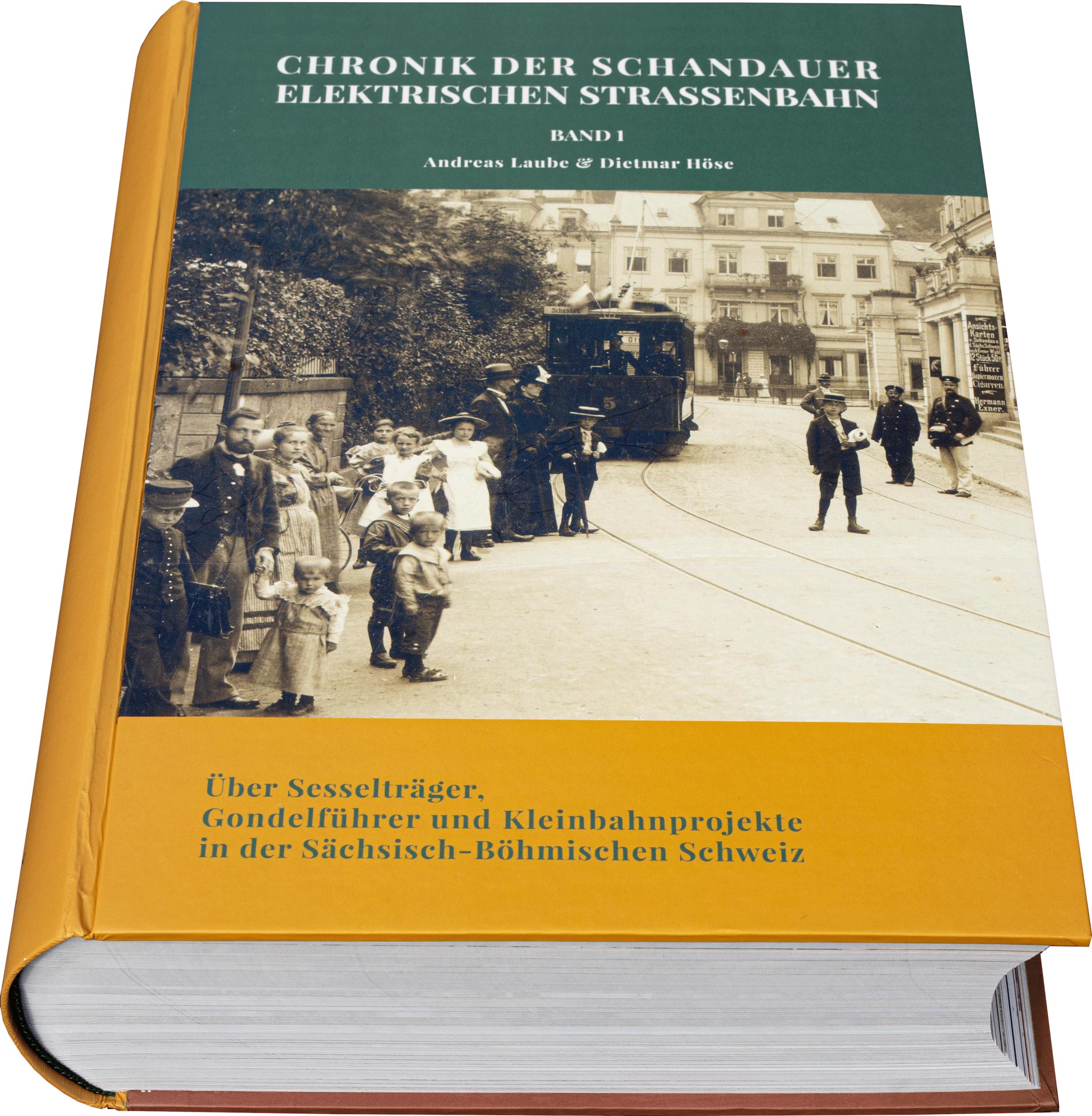 Chronik der Schandauer Elektrischen Straßenbahn Band 1 / 20200308144534
