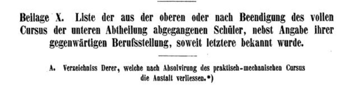 Königliche Polytechnische Schule Dresden 1853 B / 20200308183414