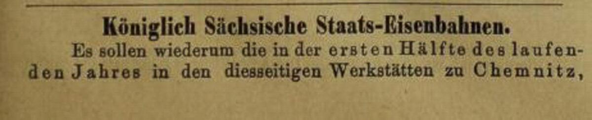 Zeitung des Vereins Deutscher Eisenbahn Verwaltungen 16.01.1873 B / 20200308183426