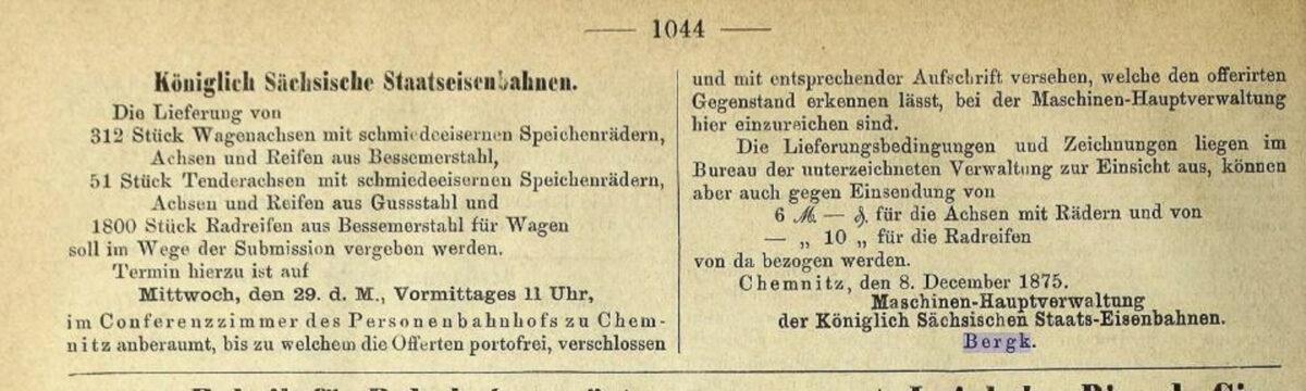 Zeitung des Vereins Deutscher Eisenbahn Verwaltungen 02.07.1875 H / 20200308183438