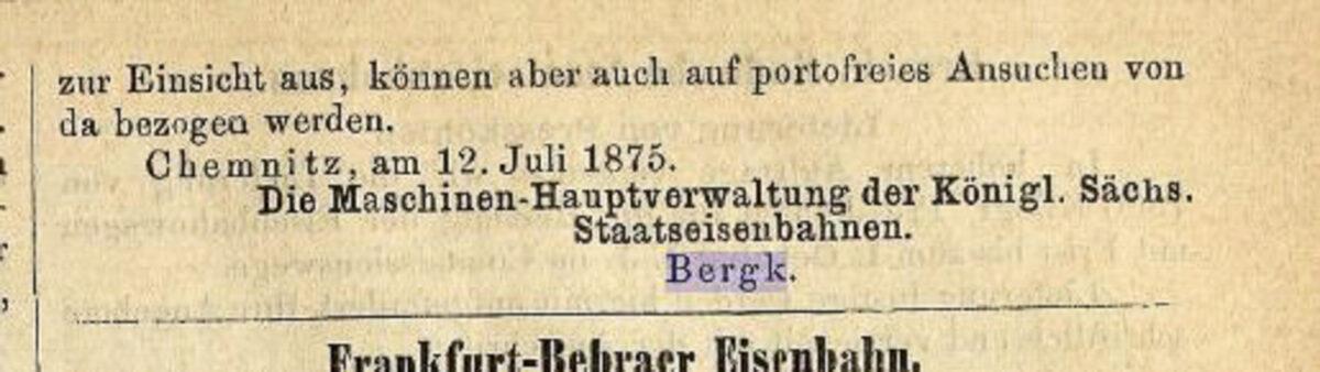 Zeitung des Vereins Deutscher Eisenbahn Verwaltungen 02.07.1875 J / 20200308183440
