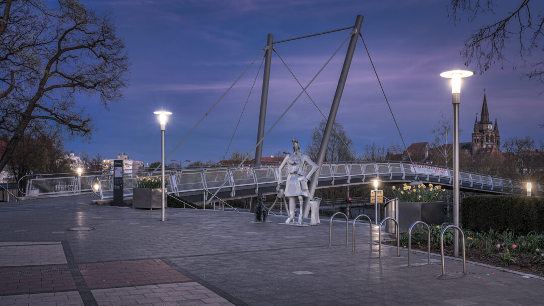 Brücke Brücken-Center Ansbach / 20200415202810