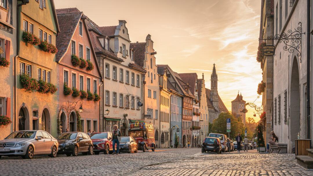 Herrngasse Rothenburg ob der Tauber / 20200919191017